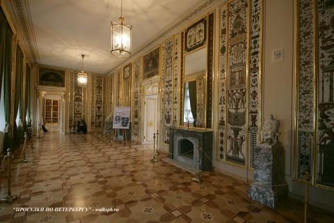Арабесковая гостиная в Строгановском дворце. 2010.02.28.