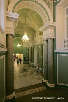 Вестибюль в Аничковом дворце. 2009.12.26.