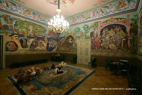 Комната сказок в Аничковом дворце. 2009.12.26.