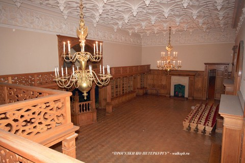 Дубовый зал во дворце Белосельских-Белозерских. 2008.12.21.