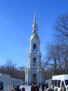 Колокольня Никольского собора.