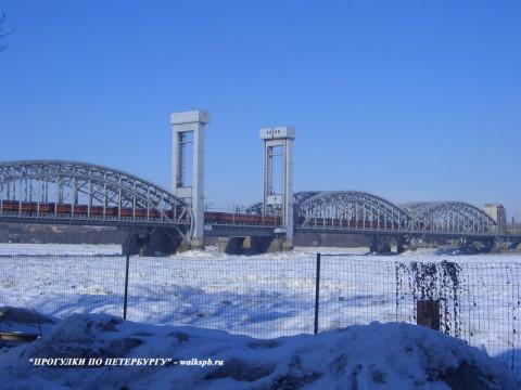 Финляндский железнодорожный мост. 2006.03.25.