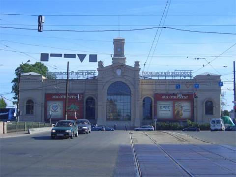 Варшавский вокзал. 2006.06.12.