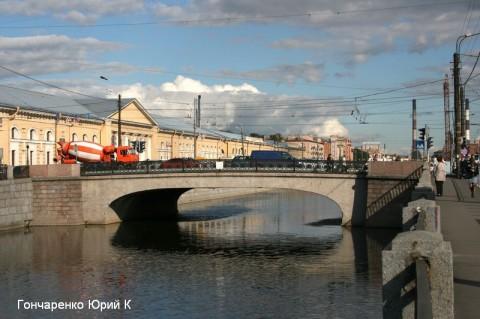 Гончаренко Ю.К., Ново-Петергофский мост.