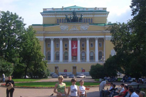 Александринский театр. 2007.09.09.