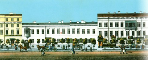 Садовников В. С., Панорама Невского проспекта. 1830-1835 годы.