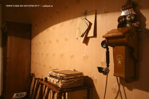 В кабинете В. И. Ленина. 2008.03.30.