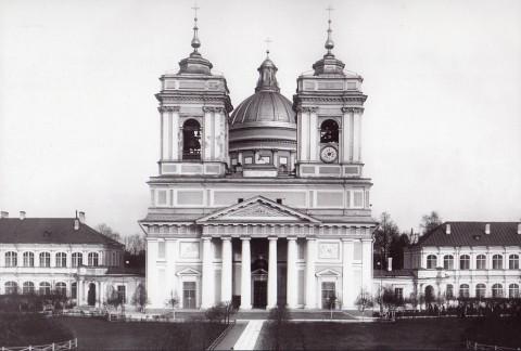 Булла К. К., Внешний вид Троицкого собора Свято-Троицкой Александро-Невской лавры. 1913 год.