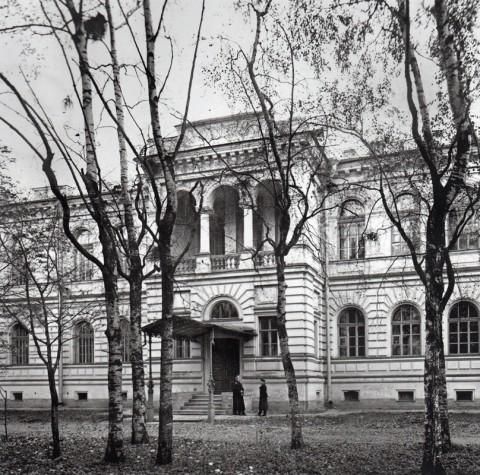 Фотоателье Буллы, Библиотека Петербургской духовной академии. 1909.