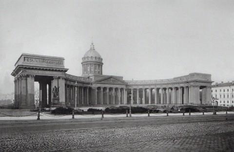 Фотоателье Буллы, Казанский собор со стороны Невского проспекта. 1911-1913.