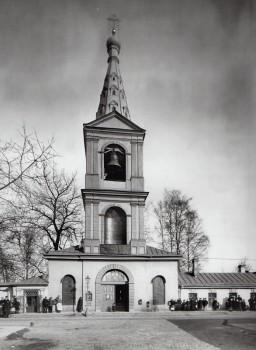Неизвестный фотограф, Колокольня Сампсониевского собора. 1900-е годы.