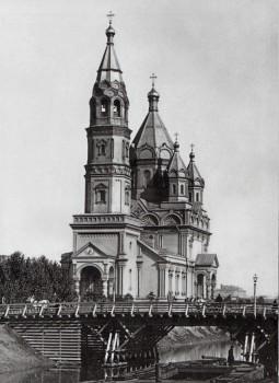 Неизвестный фотограф, Церковь священномученика Мирона при лейб-гвардии Егерском полку. 1900-е годы.
