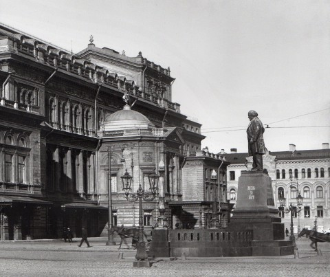 Неизвестный фотограф, Здание Консерватории Императорского Русского музыкального общества. 1912-1913.