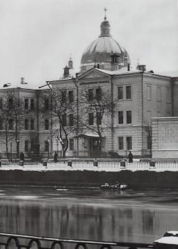 Неизвестный фотограф, Церковь св. благоверного князя Александра Невского при Александровской больнице в память 19 февраля 1861 года. 1900-е годы.