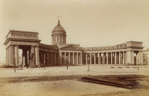 Неизвестный фотограф, Казанский собор. 1880-е годы.
