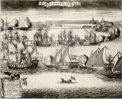 ����� �. �., ������������� ���� � �����-��������� �������� ����� ����� ������ ��� ��������. 1720 ���.
