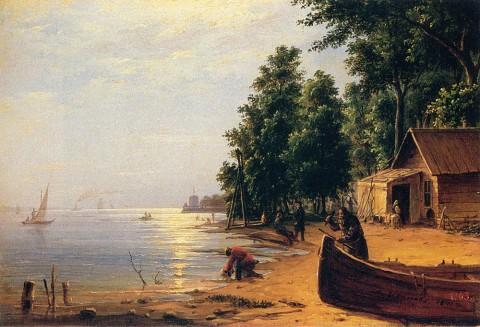 Иванов А. И., Вид на Лахте под Петербургом. 1841 год.