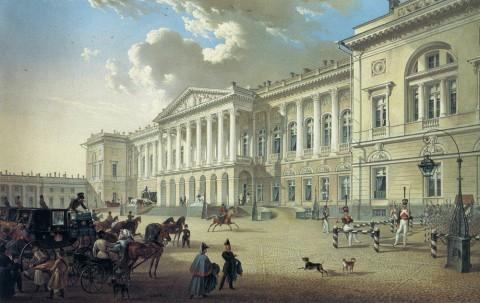 Беггров К. П., Михайловский дворец. 1832 год.