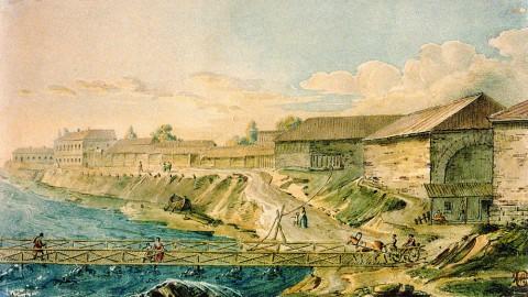 Воробьёв М. Н., Рыбная слобода (Рыбацкое). Первая половина 1810-х годов.