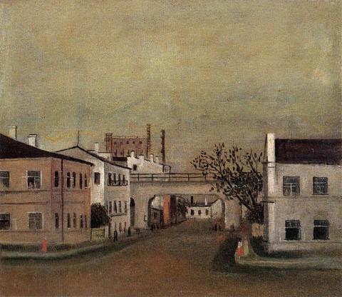 Ермолаев Б. Н., Улица в Володарском районе. 1935.