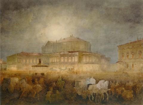 Садовников В. С., Мариинский театр в Санкт-Петербурге. Начало 1860-х годов.