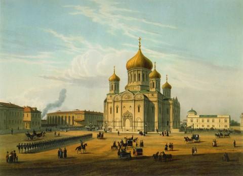 Шарлемань И. И., Церковь Введения Пресвятой Богородицы в лейб-гвардии Семёновском полку. 1850-е годы.