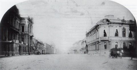 Бианки И. К., Особняк П. С. Строганова на Сергиевской улице. до 1866 года.
