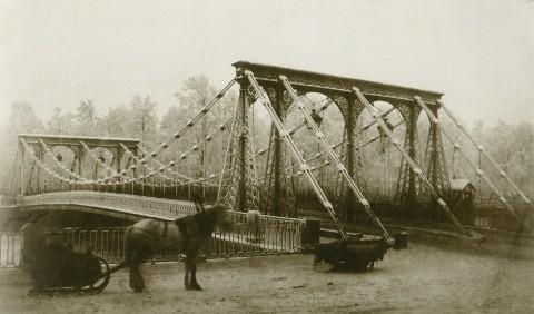Бианки И. К., Цепной мост у Летнего сада. 1853.