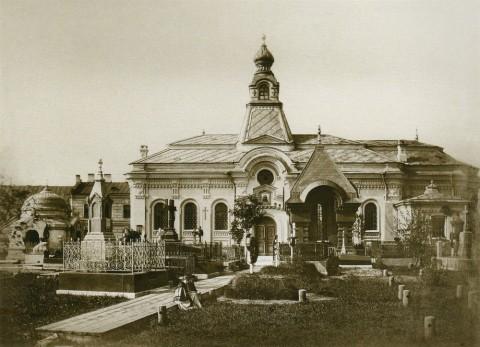 Бианки И. К., Александро-Невская лавра. Церковь иконы Божией Матери Тихвинской. До 1872 года.