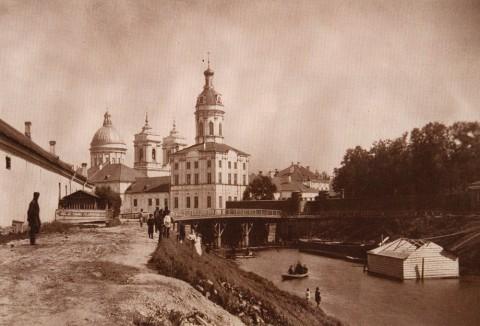 Шульц К. К., Александро-Невская лавра. 1880-е годы.