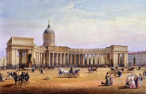 Садовников В. С., Казанский собор. 1847 год.