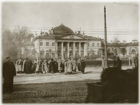 Штейнберг Я. В., Императорская Военно-медицинская академия. 1913 год.