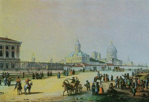 Беггров К. П., Александро-Невская лавра. 1820-е годы.