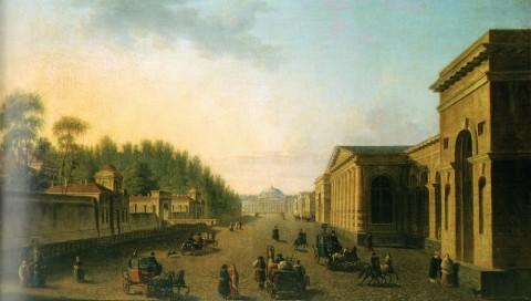 Алексеев Ф. Я., Таврическая улица. 1800-е годы.