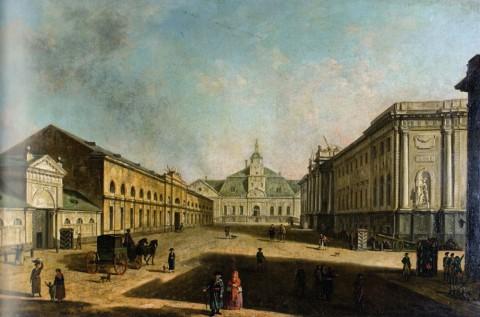 Алексеев Ф. Я., Вид Литейного проспекта в сторону Литейного двора. Начало 1800-х годов.