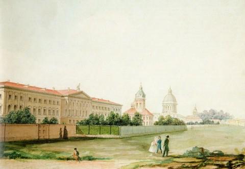 Гейденрейх 2-й Д. Г., Духовная академия. Начало 1820-х годов.