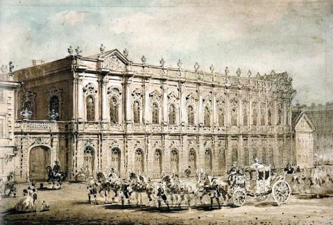 Садовников В. С., Здание Конюшенного двора. 1860-е годы.