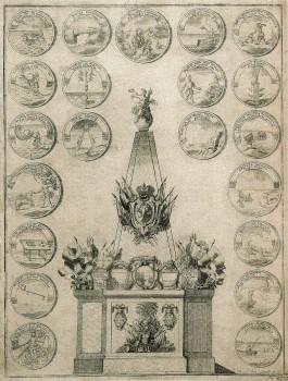 Зубов А. Ф., Гренгамская пирамида. 1720.