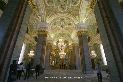 Зал Петропавловского собора. 2008.04.20.
