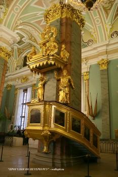 Кафедра Петропавловского собора. 2008.04.20.
