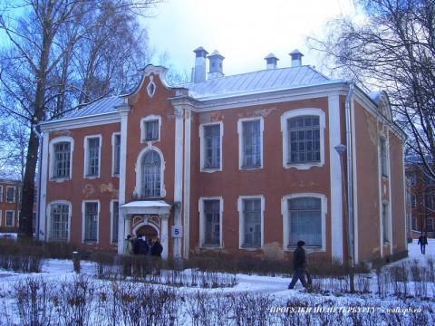 Корпус больницы Петра Великого.