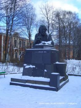 Памятник И. И. Мечникову.