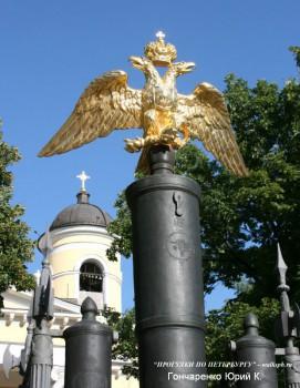 Гончаренко Ю.К., Ограда Спасо-Преображенского собора.