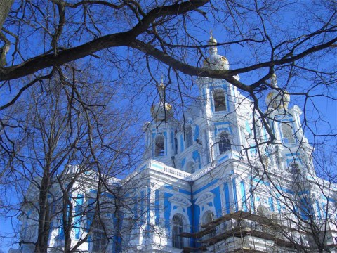 Смольный собор. 2006.03.18.