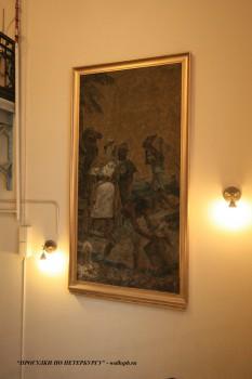 Мозаика в Парадной лестнице дома Ф. И. Лидваля. 2009.02.15.