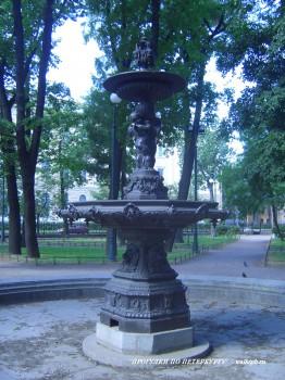 Фонтан в Румянцевском саду. 2007.08.12.