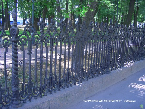 Ограда Румянцевского сада. 2007.08.12.