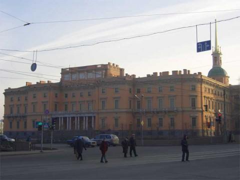 Михайловский (Инженерный) замок. 2005.12.04.
