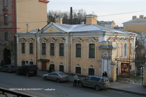 Боковой корпус Воронцовского дворца. 2009.02.10.