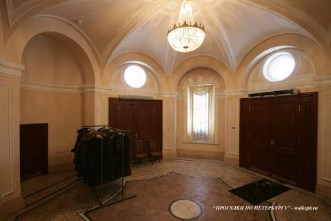 Вестибюль в Доме военного министра. 2010.02.23.